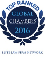 Top Ranked Chambers Global 2016, Elite Law Firm Network