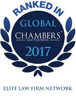 Top Ranked Chambers Global 2017, Elite Law Firm Network