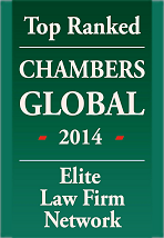 Top Ranked Chambers Global 2014, Elite Law Firm Network