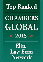 Top Ranked Chambers Global 2015, Elite Law Firm Network